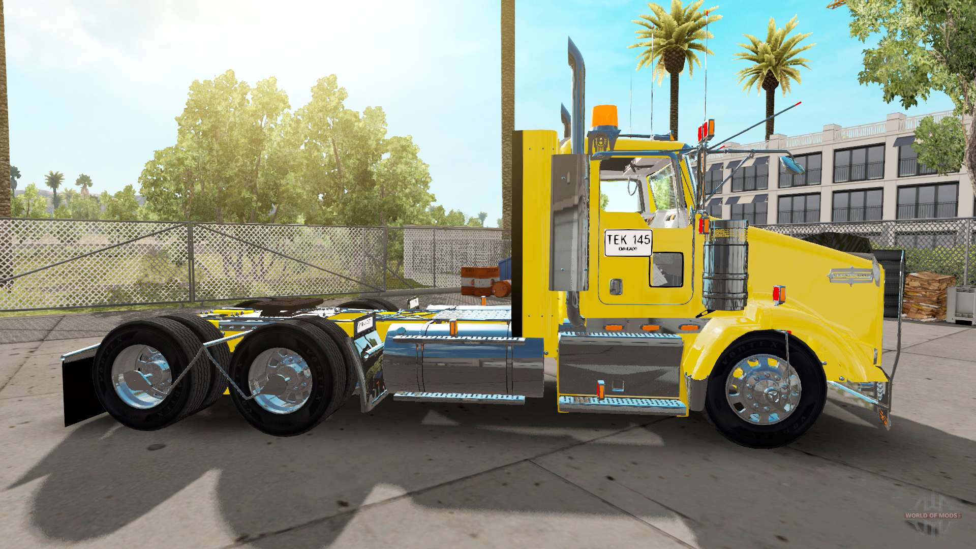 Kenworth T800 Colombia For American Truck Simulator