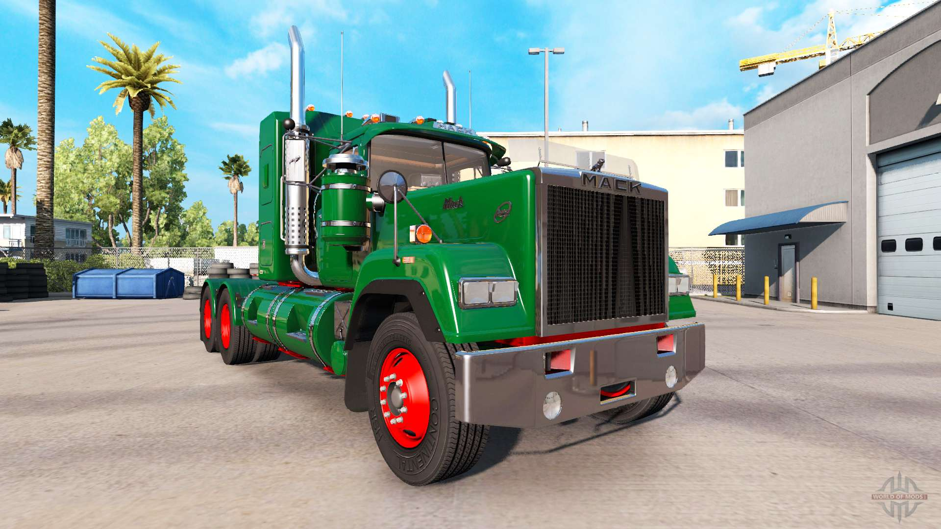 mack super liner deluxe for american truck simulator. Black Bedroom Furniture Sets. Home Design Ideas