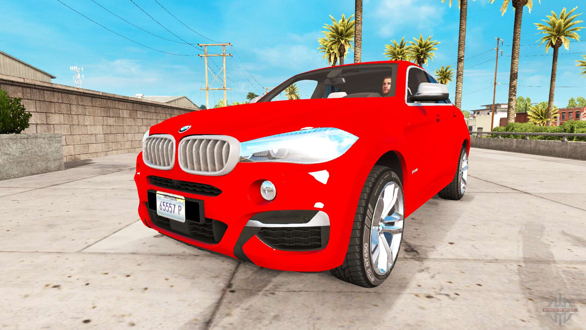 Bmw X6 M50d 2015 For American Truck Simulator
