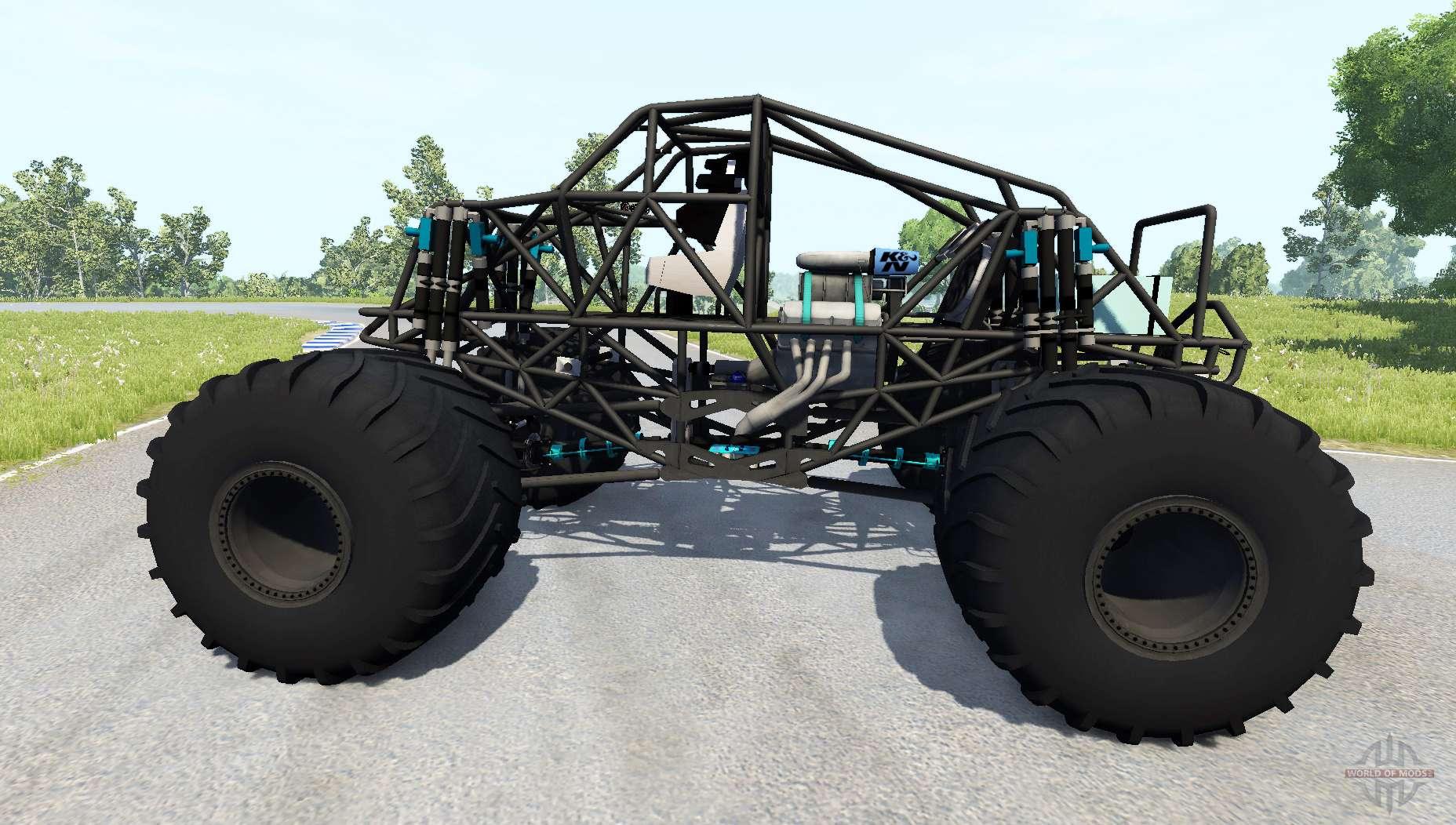 Monster truck bigfoot