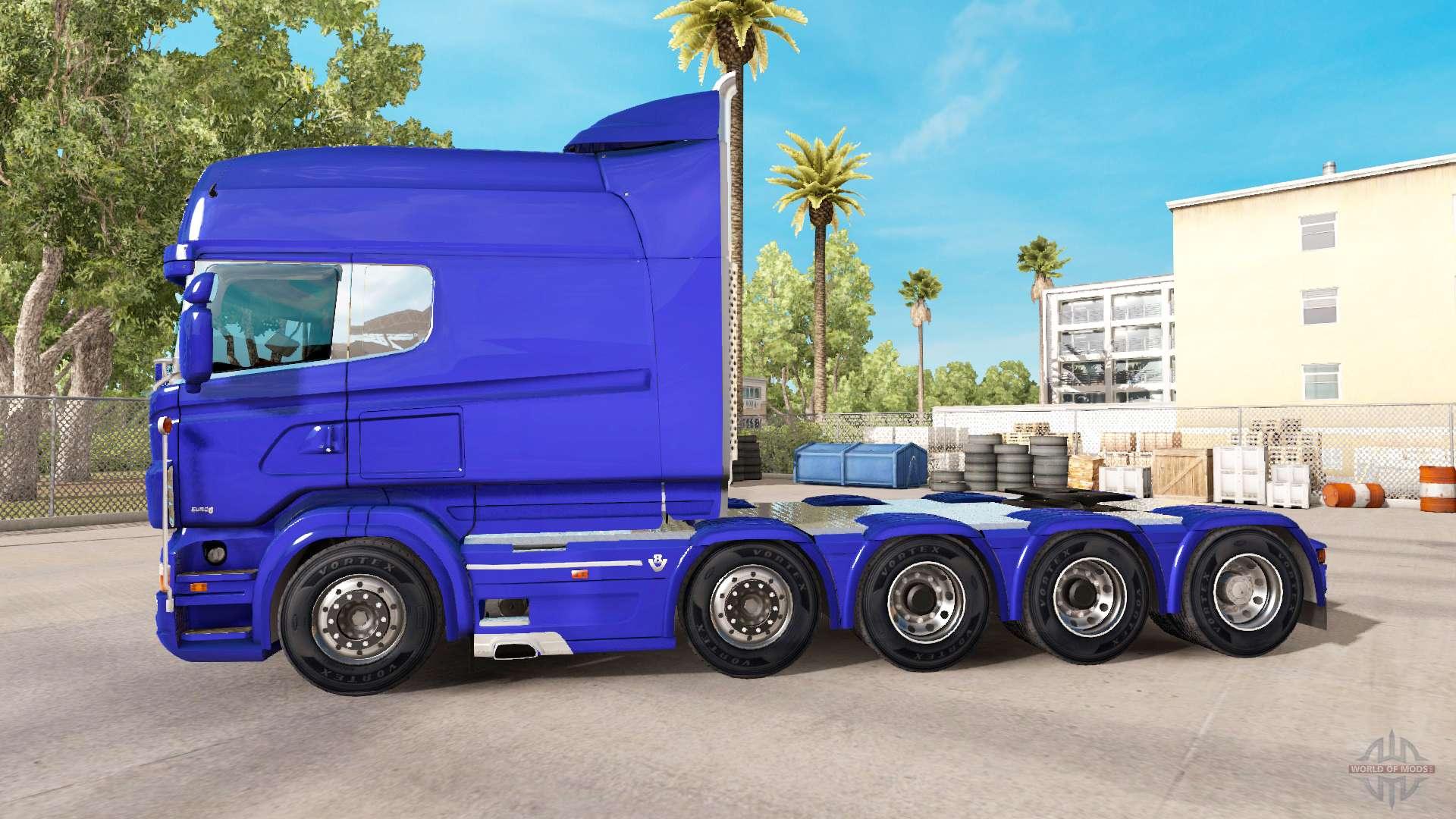 Scania R730 Long For American Truck Simulator