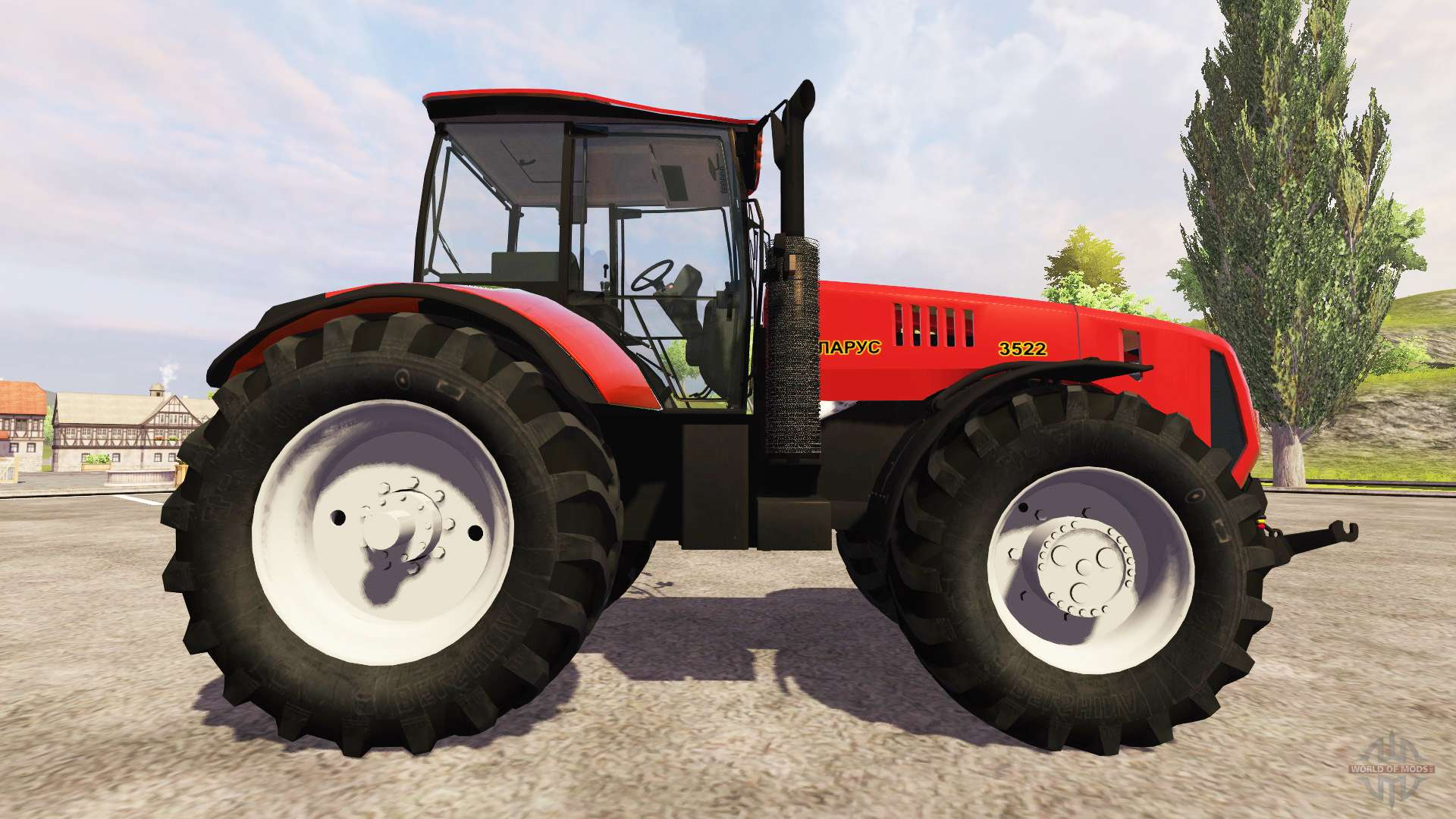 3522 Zebra Zetor Tractor Parts : Belarus for farming simulator