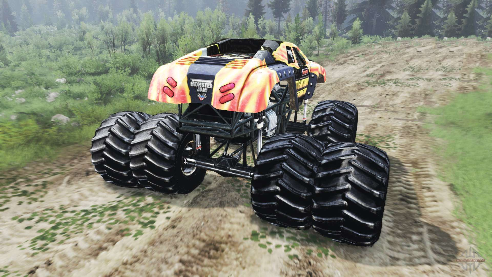 Monster Truck 03 03 16 For Spin Tires