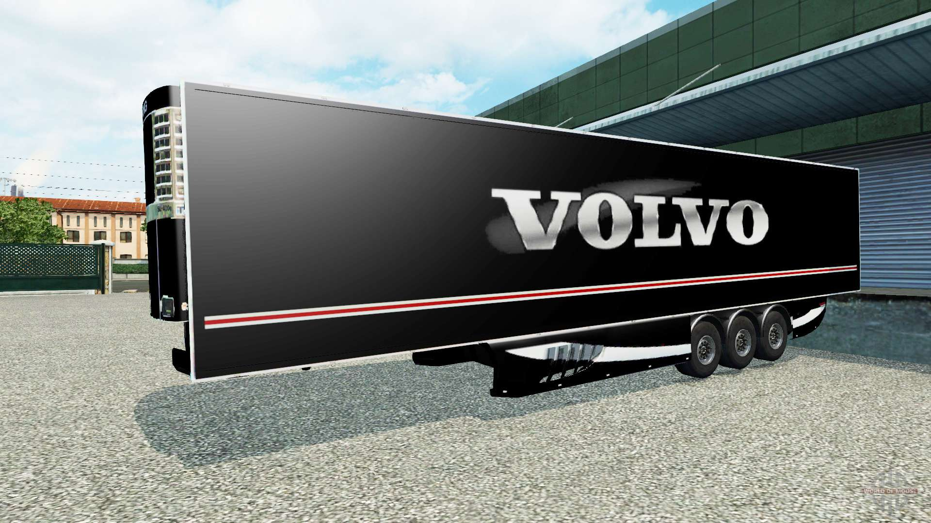 Semi Tractor Trailer : The semi trailer volvo for euro truck simulator