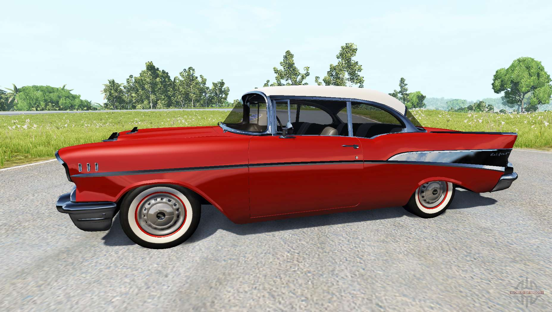 Bel Air Coupe 1957 for BeamNG Drive