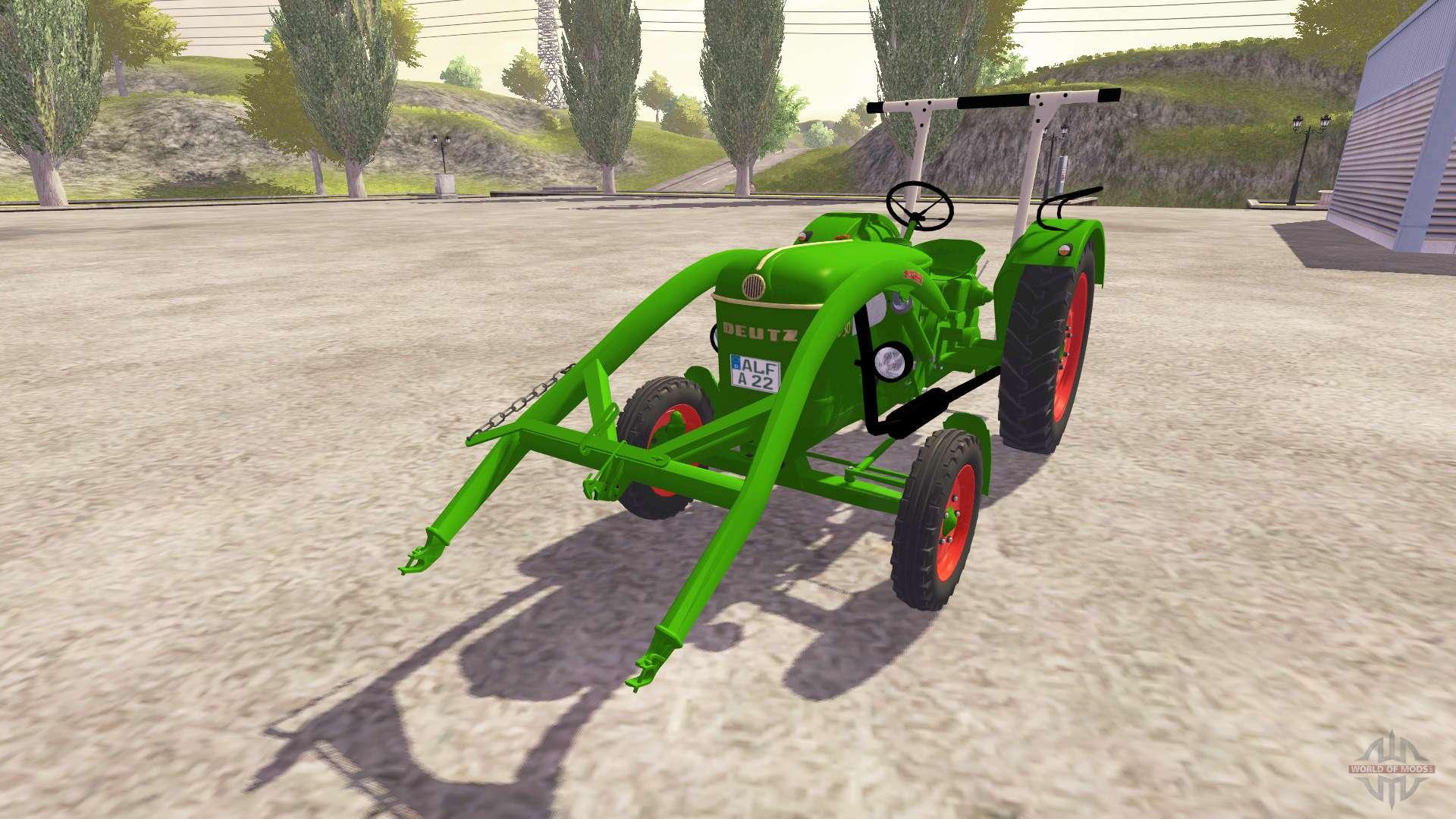 deutz d30 fl v3 0 for farming simulator 2013. Black Bedroom Furniture Sets. Home Design Ideas