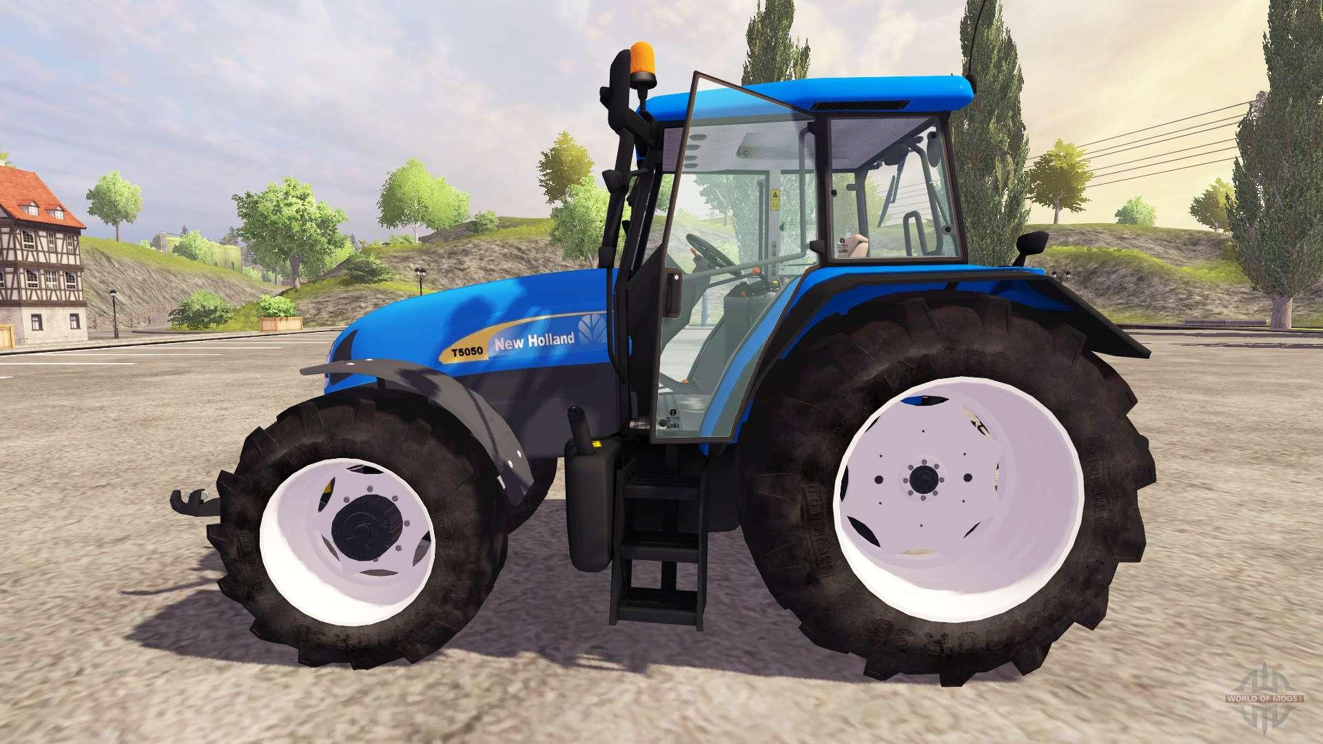 New Holland T5050 v2 0 for Farming Simulator 2013