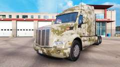 Camouflage skins for the Peterbilt and Kenworth
