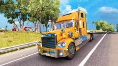 Skin A&W on the truck Freightliner Coronado