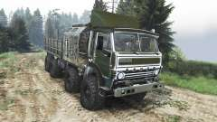 KamAZ-6350 Mustang [25.12.15] for Spin Tires