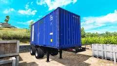 The semi-trailer container