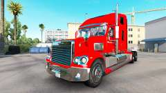 The skin on the Budweiser tractor Freightliner C