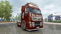 Skin FC St. Pauli on a Volvo truck
