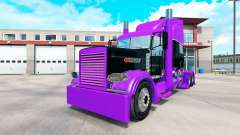Racing skin for the truck Peterbilt 389