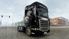 The Jack Daniels Birthday skin for Scania truck