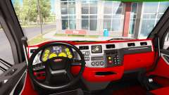 Color of Peterbilt 579 interior in the style of