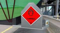 Signs of dangerous goods
