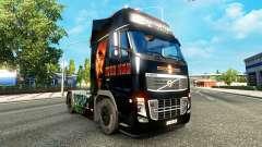 Ironman skin for Volvo truck