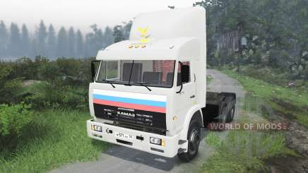 KamAZ-54115 [03.03.16] for Spin Tires