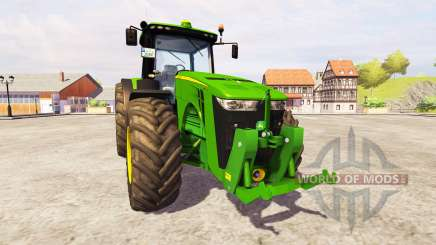 John Deere 8360R [front linkage] v2.1 for Farming Simulator 2013