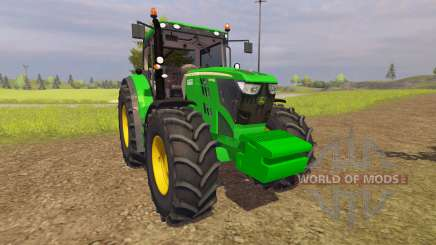 John Deere 6210R v2.0 for Farming Simulator 2013
