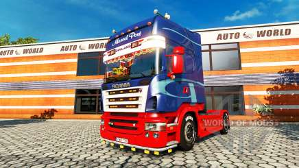 Scania R730 2008 v2.1 for Euro Truck Simulator 2