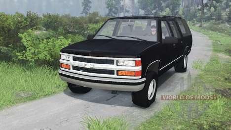 Chevrolet Suburban GMT400 [03.03.16] for Spin Tires