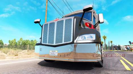 Chrome bumper on the Peterbilt 579 for American Truck Simulator