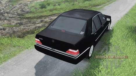 Mercedes-Benz S600 (W140)[03.03.16] for Spin Tires
