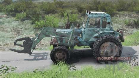 MTZ-82 Belarusian [03.03.16] for Spin Tires