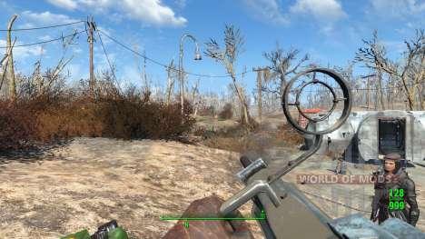 WH-Mk22 Heavy Machinegun for Fallout 4