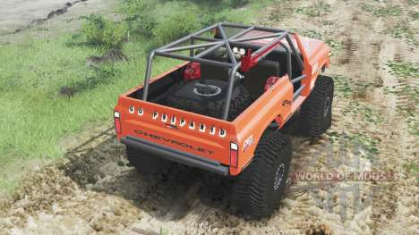 Chevrolet K5 Blazer 1972 [crawler] for Spin Tires