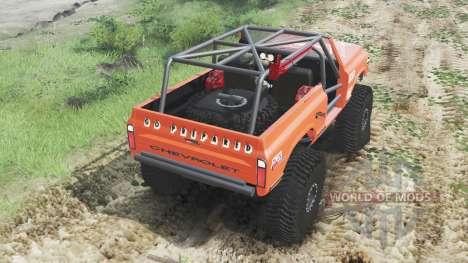 Chevrolet K5 Blazer 1972 [crawler] for Spin Tires