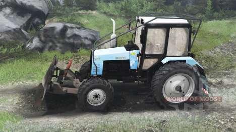 MTZ-1221.2 Belarus [03.03.16] for Spin Tires