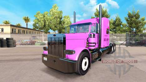 Skin Pooh Veasna tractor Peterbilt 389 for American Truck Simulator