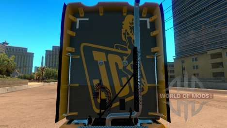 JCB skin for Kenworth T680 for American Truck Simulator