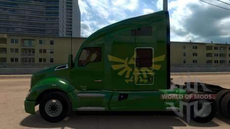 Zelda Skin for Peterbilt 579 for American Truck Simulator