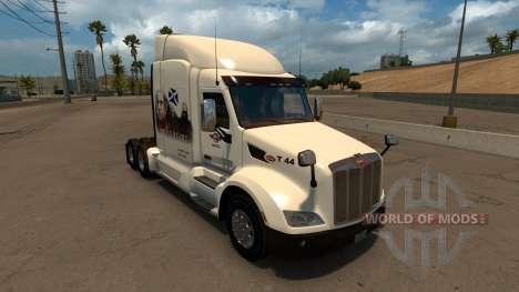 Peterbilt 579 Braveheart Truck Skin for American Truck Simulator