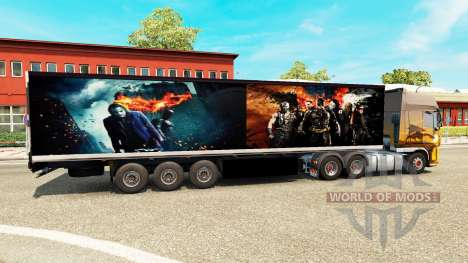 Trailer Batman for Euro Truck Simulator 2
