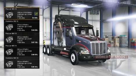 Engine 1500 HP for American Truck Simulator
