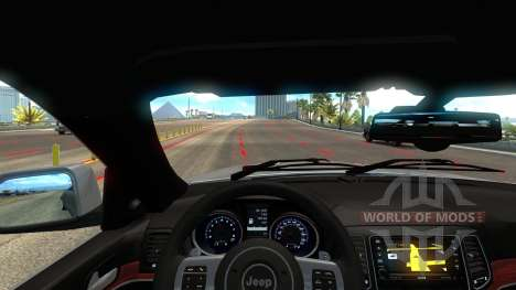 Jeep Grand Cherokee SRT8 for American Truck Simulator