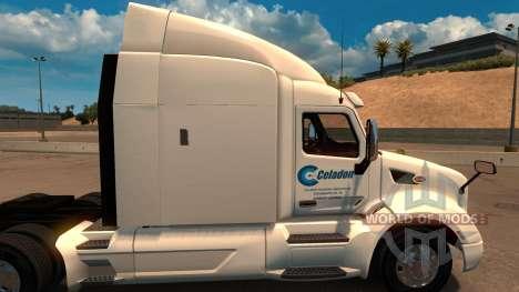 Celadon Trucking скин для Peterbilt 579 for American Truck Simulator