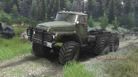 Ural-4320 [03.03.16] for Spin Tires