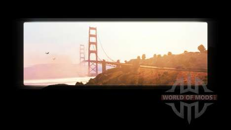 The removal of the ATS logo in the loading scree for American Truck Simulator