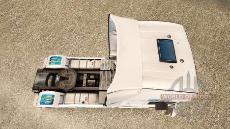 Intel skin for Scania truck for Euro Truck Simulator 2