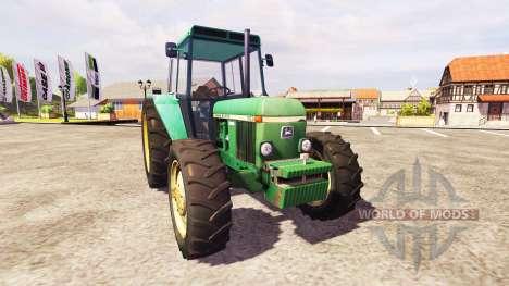 John Deere 3030 v1.1 for Farming Simulator 2013