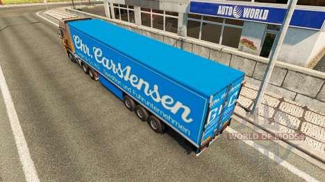 Semi Carstensen for Euro Truck Simulator 2