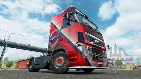 Volvo Special skin for Volvo truck for Euro Truck Simulator 2