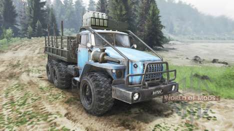 Ural-4320-30 [03.03.16] for Spin Tires