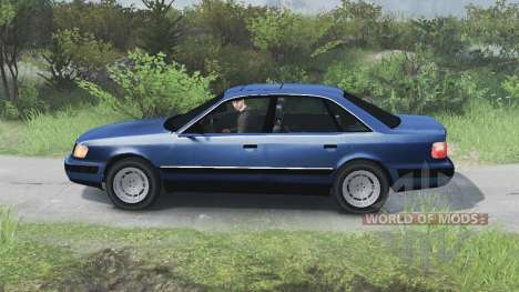 Audi 100 C3 Quattro [03.03.16] for Spin Tires